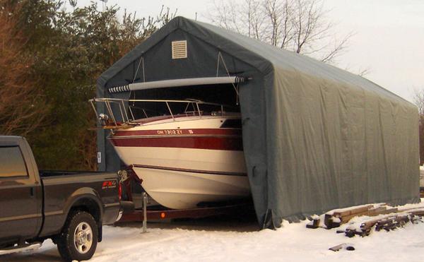 Rhino 14x42x15 RV/Boat Shelter