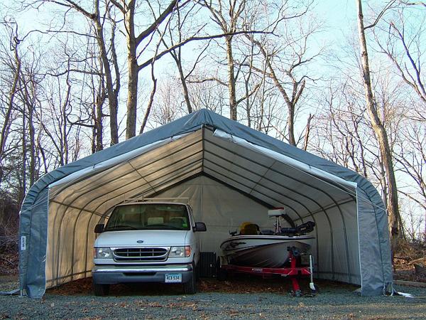 Rhino 22x24x12 Two Car Garage