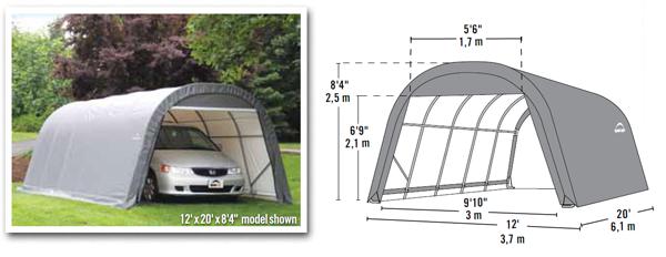 Shelter Logic 12x20x8.4