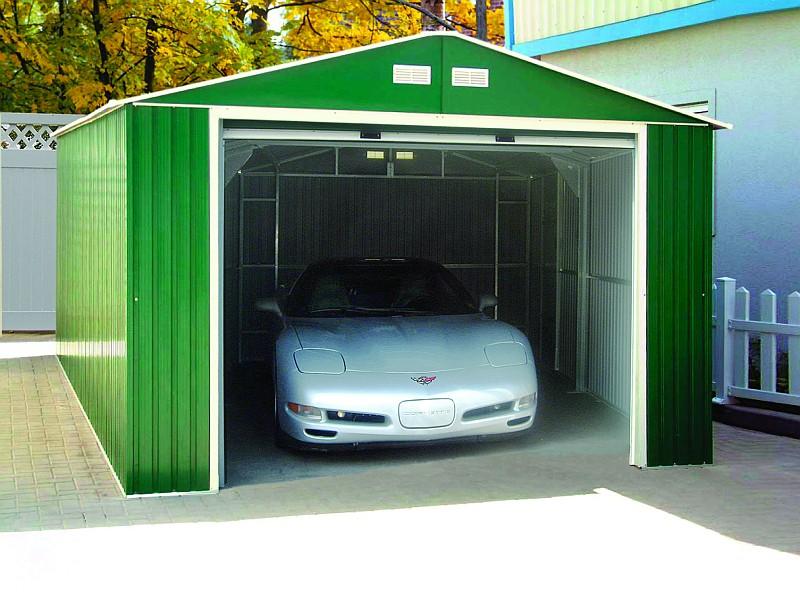 Duramax 12x20 Metal Garage Kit